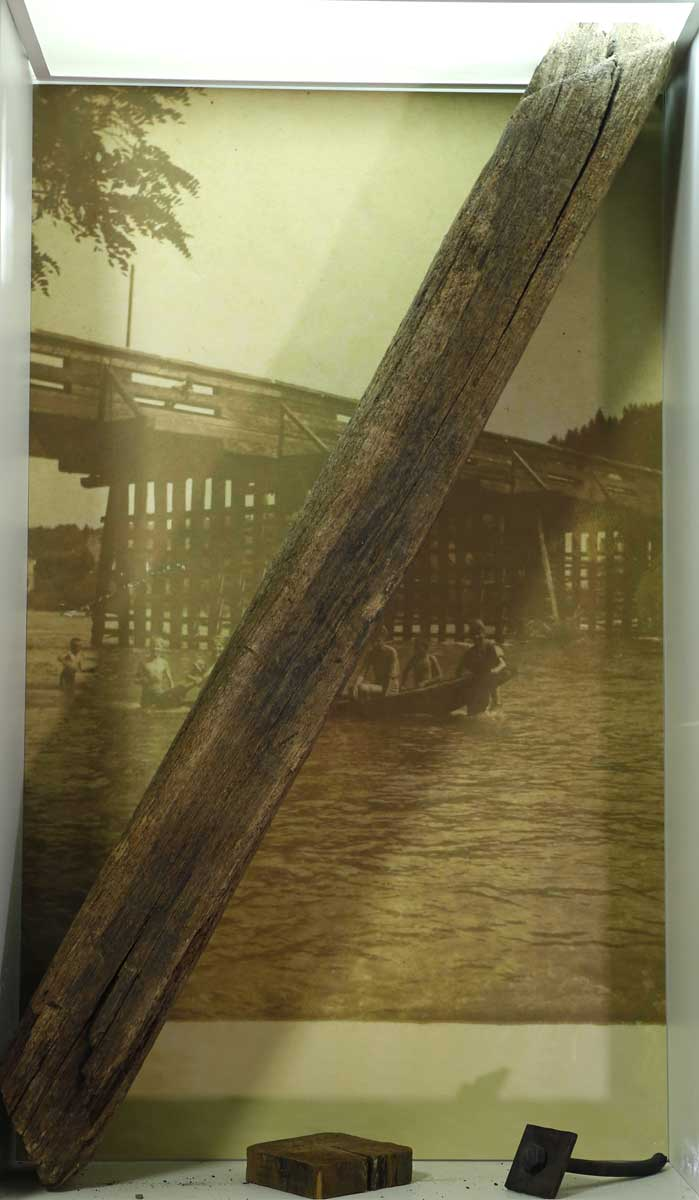 Litijski leseni most – Prvi most v Zasavju