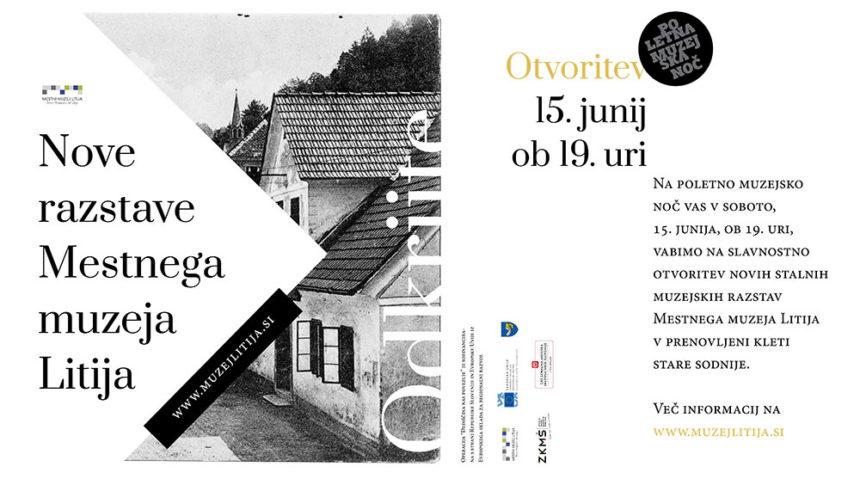Otvoritev novih stalnih prostorov Mestnega muzeja Litija